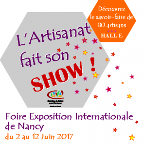 Foire internationale de Nancy (54) du 2 au 12 juin 2017